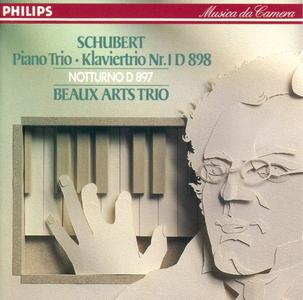 Beaux arts trio - Schubert: Piano trio No. 1, op. 99, Notturno (1989)