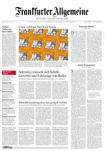 Frankfurter Allgemeine Zeitung - 1 Juni 2021