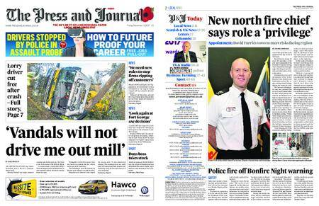 The Press and Journal Moray – November 03, 2017