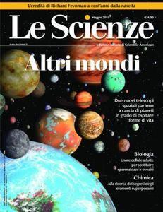 Le Scienze - maggio 2018