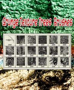 Grunge Texture Trees Brushes