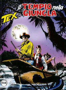 Tex Willer Mensile 702 - Il Tempio nella giungla (04/2019)