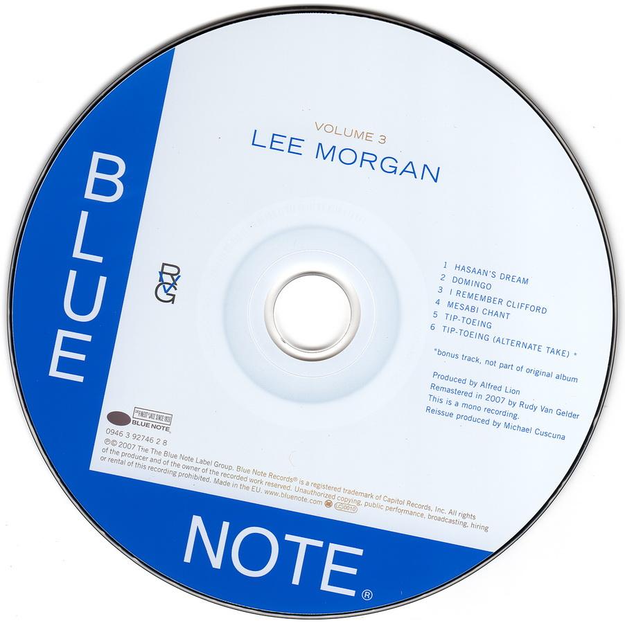 Lee Morgan - Volume 3 (1957) {2007 Rudy Van Gelder Remaster}