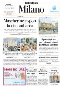 la Repubblica Milano - 31 Maggio 2020
