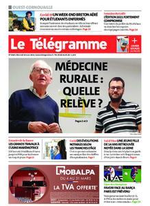 Le Télégramme Ouest Cornouaille – 10 mars 2021