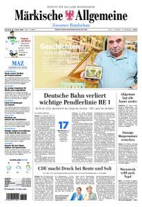Märkische Allgemeine Zossener Rundschau - 15. Januar 2019