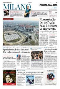 Corriere della Sera Milano – 29 ottobre 2019