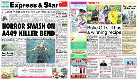 Express and Star City Edition – August 29, 2017