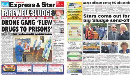Express and Star Sandwell Edition – August 31, 2018
