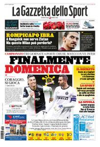 La Gazzetta dello Sport Roma – 05 marzo 2020