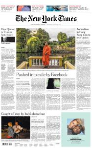 International New York Times - 26 August 2020