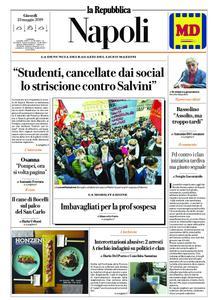 la Repubblica Napoli – 23 maggio 2019