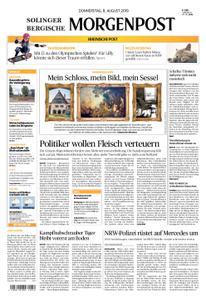 Solinger Morgenpost – 08. August 2019