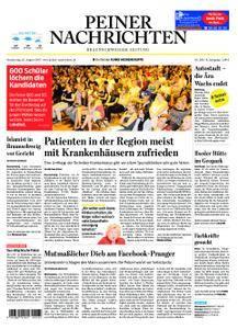 Peiner Nachrichten - 31. August 2017