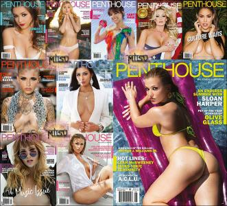 Penthouse USA - Full Year 2018 Issues Collection