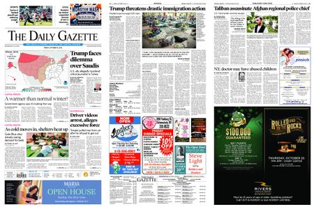 The Daily Gazette – October 19, 2018