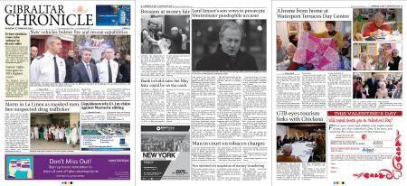 Gibraltar Chronicle – 08 February 2018
