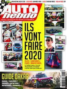 Auto Hebdo - 02 janvier 2020