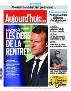 Aujourd'hui en France – 22 août 2018