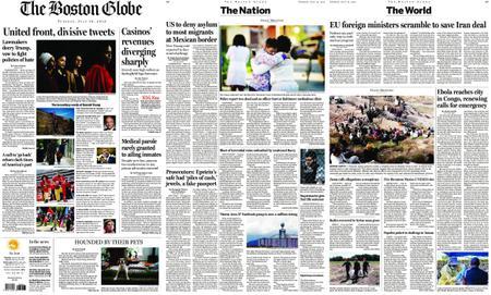 The Boston Globe – July 16, 2019