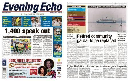 Evening Echo – April 14, 2018