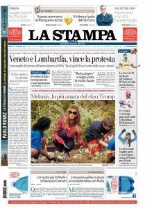 La Stampa Imperia e Sanremo - 23 Ottobre 2017