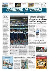 Corriere di Verona - 4 Agosto 2018