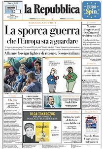 la Repubblica - 12 Ottobre 2019