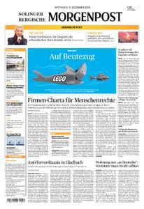 Solinger Morgenpost – 11. Dezember 2019