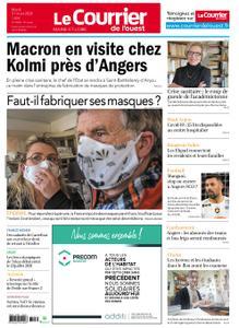 Le Courrier de l'Ouest Angers – 31 mars 2020
