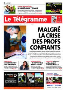 Le Télégramme Brest – 01 septembre 2020