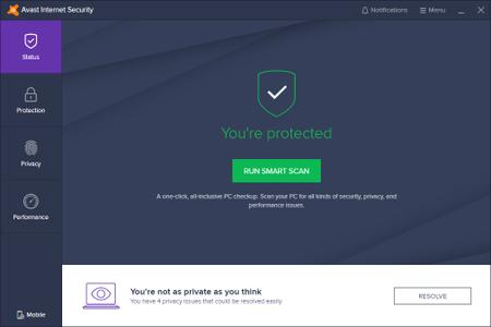 Avast Internet Security 19.6.2383 (Build 19.6.4546) Multilingual