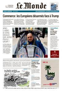 Le Monde du Mercredi 30 Mai 2018