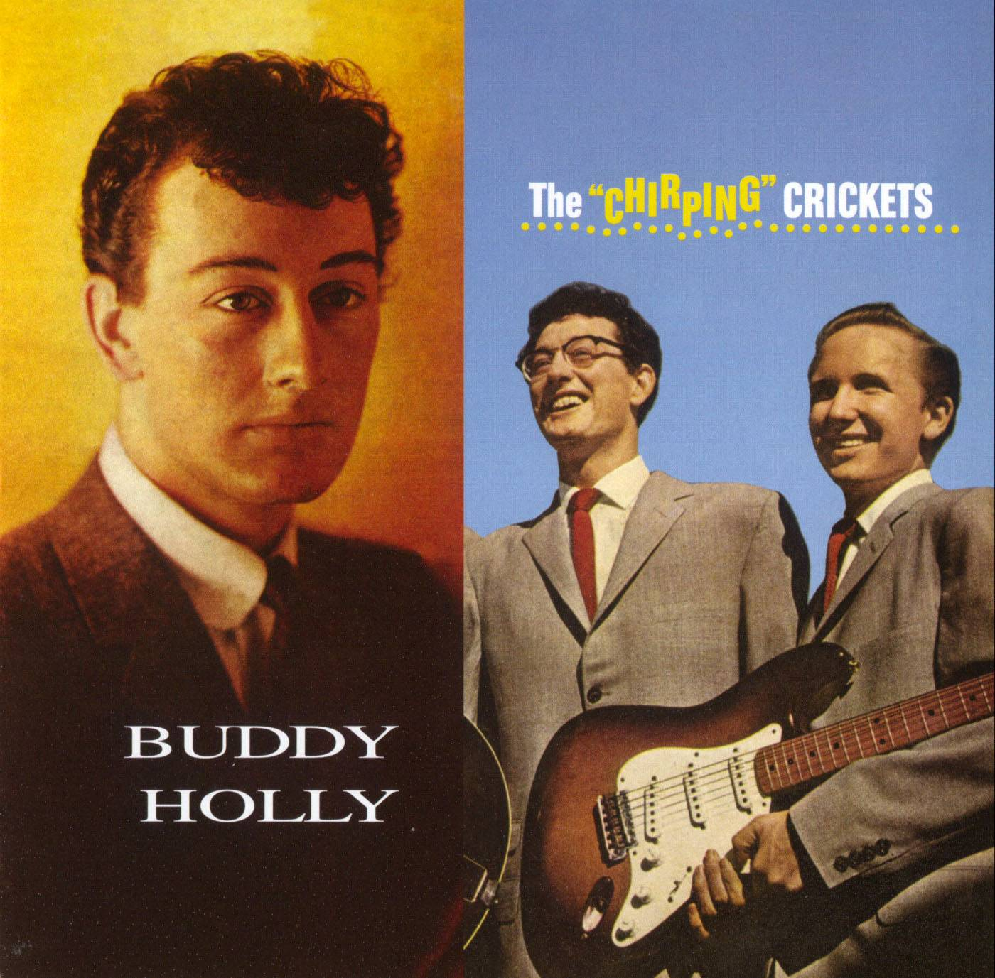 """Buddy Holly & The Crickets - The """"Chirping Crickets"""" (1957) + Buddy Holly (1958) APO Remastered 2017, 2 LP in 1 SACD"""