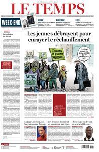Le Temps - 19 janvier 2019