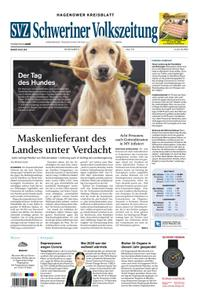 Schweriner Volkszeitung Hagenower Kreisblatt - 06. Juni 2020
