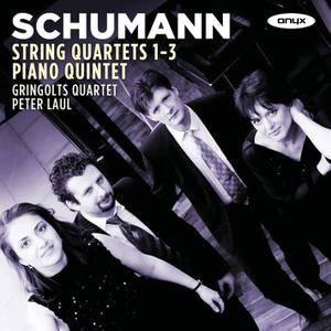 Gringolts Quartet, Peter Laul - Robert Schumann: String Quartets Nos. 1-3; Piano Quintet (2011) 2CDs