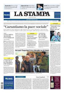 La Stampa Torino Provincia e Canavese - 15 Maggio 2020