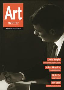 Art Monthly - March 2015   No 384
