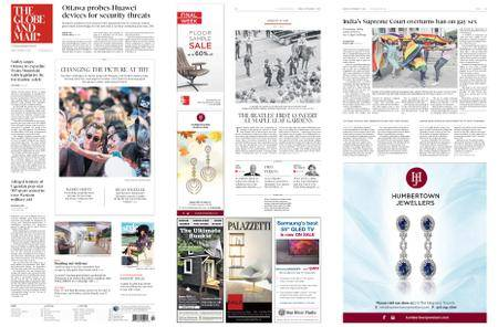 The Globe and Mail – September 07, 2018