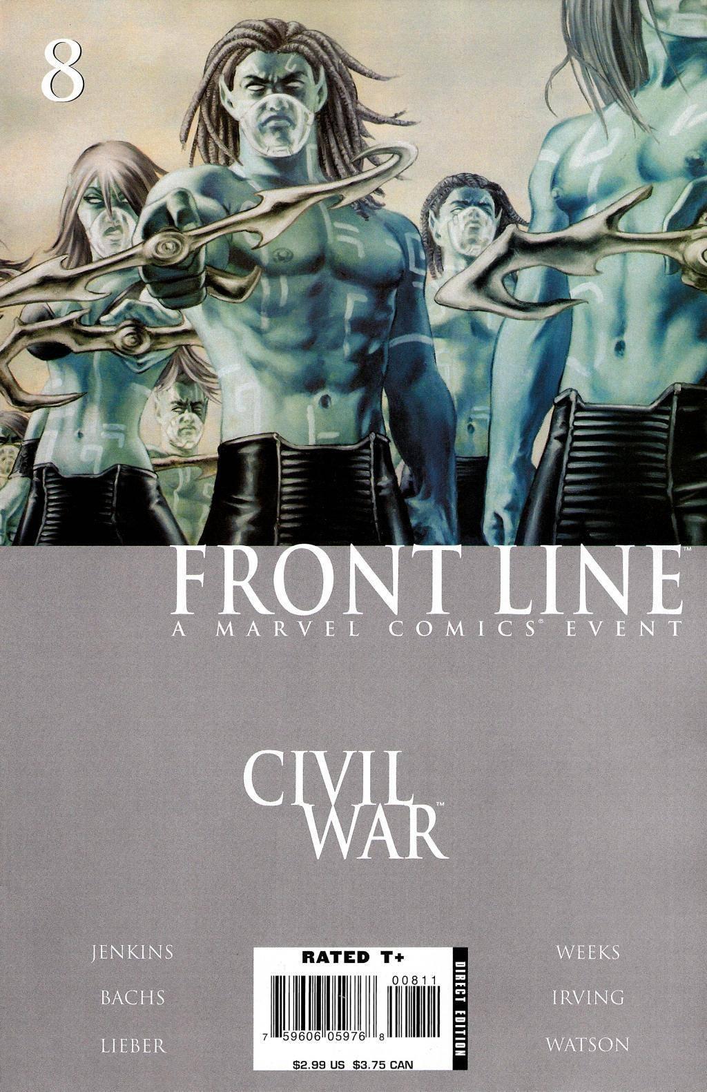 Civil War - Frontline 08