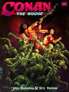 Marvel Graphic Novel 69 - Conan The Rogue 1991