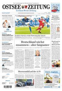Ostsee Zeitung Wolgast - 02. Oktober 2017