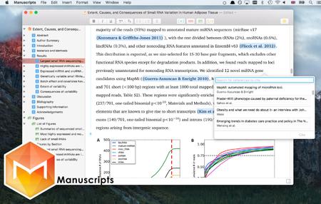 Manuscripts 1.2.6 Mac OS X