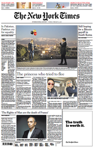 International New York Times - 12 February 2019