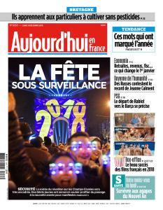 Aujourd'hui en France du Lundi 31 Décembre 2018
