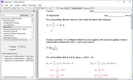 Infinite Calculus 2.42 Portable