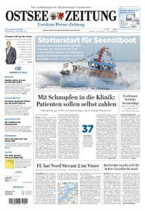 Ostsee Zeitung Wolgast - 09. November 2017