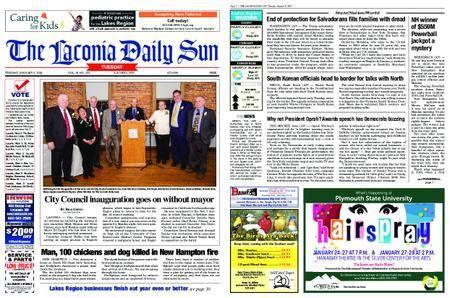 The Laconia Daily Sun – January 09, 2018