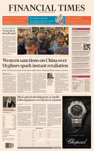 Financial Times Asia - March 23, 2021